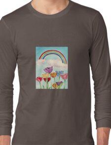 Tulips & Rainbows Long Sleeve T-Shirt
