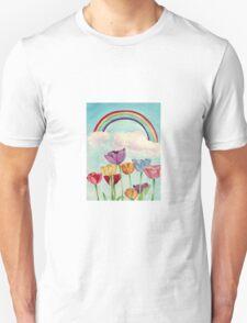 Tulips & Rainbows Unisex T-Shirt