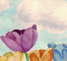 Tulips & Rainbows Sticker