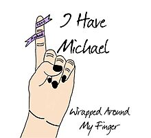 Michael's Wrapped Around My Finger Photographic Print