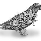 Roly The Steampunk Pigeon by Squidoodle