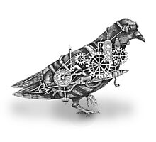Roly The Steampunk Pigeon Photographic Print