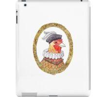 Renaissance Chicken iPad Case/Skin