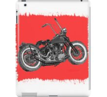 Red splash, Knuckle bobber iPad Case/Skin
