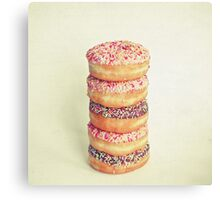 Stack of Donuts Canvas Print