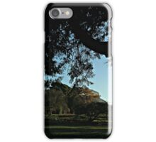 The Glasshouse behind the trees iPhone Case/Skin