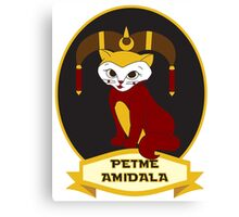 Petme Amidala Canvas Print