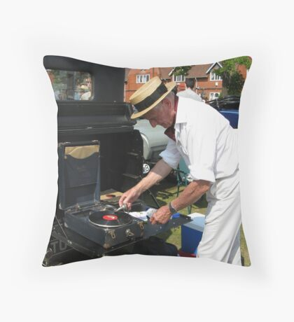 OLD TIME MUSIC Throw Pillow