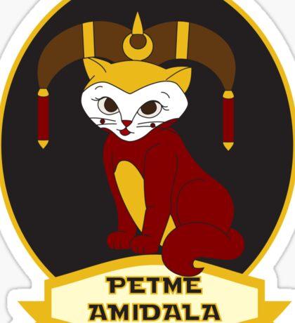 Petme Amidala Sticker