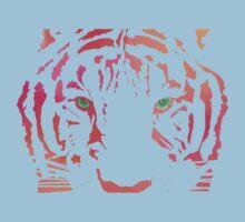 Tiger Tiger Burning Bright Kids Tee