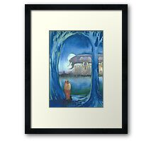 """Ralph and the Elephants from Mars"" Framed Print"