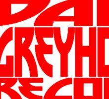 Daft Greyhound Records Mugs, Stickers, etc. Sticker