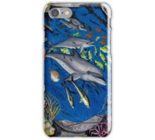 Dolphin's Wreck iPhone Case/Skin