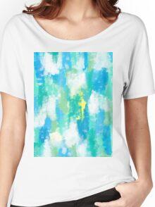 CALM GREEN Women's Relaxed Fit T-Shirt