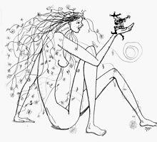 Blooming to the song of a trovador  /  Floreciendo al canto de un trovador by mago