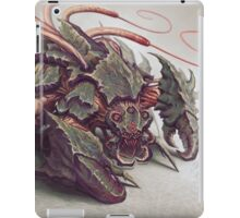 Red Whip Thresher iPad Case/Skin