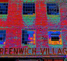 GREENWICH VILLAGE, NYC by Sharon A. Henson