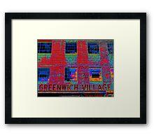 GREENWICH VILLAGE, NYC Framed Print