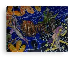 The Fairy Stalker's Web Canvas Print