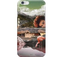 Motel Flamingo  iPhone Case/Skin