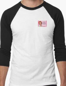 English Sarcasm Profanity Men's Baseball ¾ T-Shirt