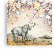 Bubble dreams Canvas Print