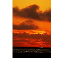 Sunset on a SoCal Beach Photographic Print