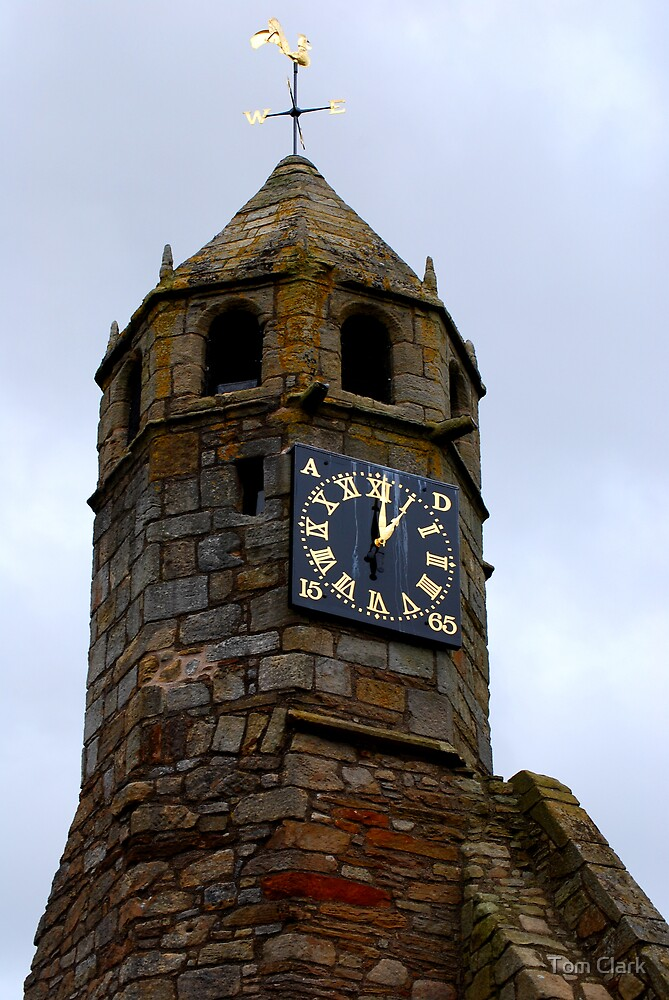 Old Clock by Tom Clark