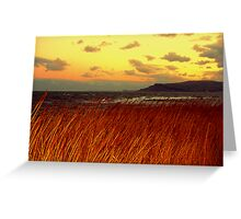 North East Winter Landscape Greeting Card