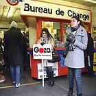 Fashion & Gaza Demonstration by kombizz
