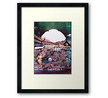 Apocalypse Beach  Framed Print