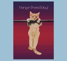 Hang In There Baby Kitten Kids Tee