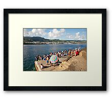 At the islet Framed Print