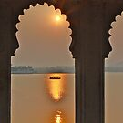 UDAIPUR SUNSET by amulya