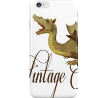 Vintage & Dragons iPhone Case/Skin