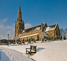 St. Peter's Church, Belmont, Lancashire by Steve  Liptrot