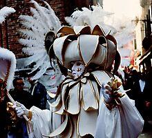 Venetian Mask by Mojca Savicki