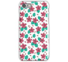 Hibiscus -  Hawaii Flower, pattern print by Andrea Lauren iPhone Case/Skin