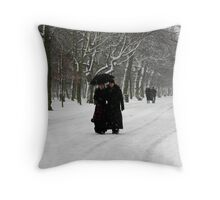 Gorky Park? No Regents Park Throw Pillow