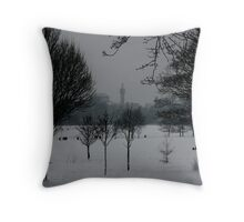 Regents Park and Regents Mosque Throw Pillow