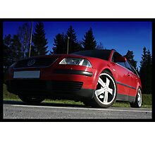 VW Passat Photographic Print