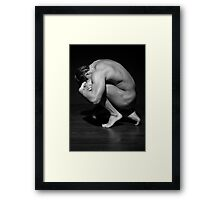 See it coming Framed Print