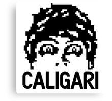 8-bit Dr. Caligari Canvas Print