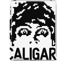 8-bit Dr. Caligari iPad Case/Skin