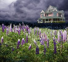 A Dream Among Lupines by Wayne King