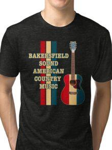 American Bakersfield Sound Tri-blend T-Shirt
