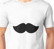 Gentleman's Moustache Unisex T-Shirt