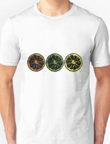 Grunge Citrus Fruits T-Shirt