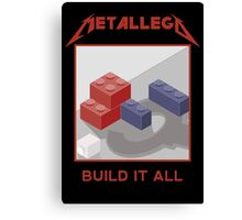 Metallego: Build it All Canvas Print