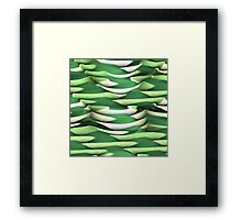 Layer after Layer Abstract Framed Print